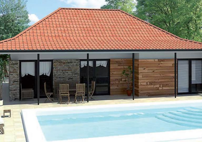 Onduvilla - Sistema único de telhado com um atraente aspeto de telha de barro